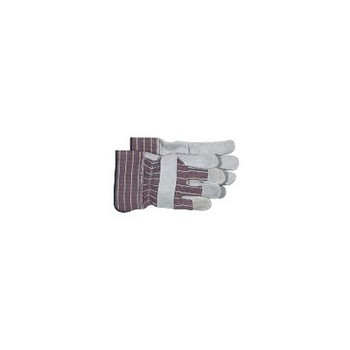 Split Leather Palm Gloves - Large