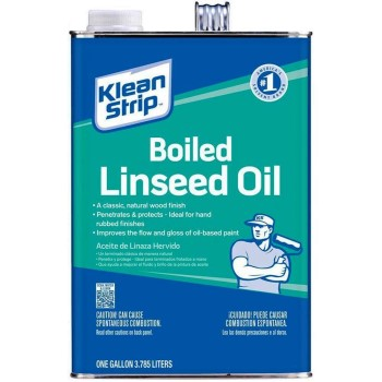 Klean-Strip GLO45 Boiled Linseed Oil ~ One Gallon