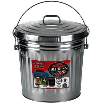 Behrens Mfg  6110 Utility Trash Can - 10 gallon