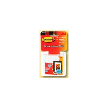 Adhesive Hooks, - Medium Picture Hang Strips
