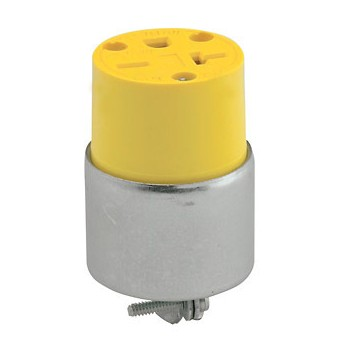 Connector, Armored Grounding Outlet
