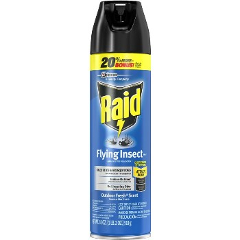 Raid Flying Insect Killer ~ 18 oz  Spray