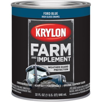 Krylon K02027000 2027 Qt Ford Blue Paint
