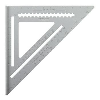 Rafter Square, Aluminum ~ 7in.