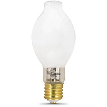 Feit Elec. H39KC-175/DX Light Bulb, Mercury Vapor White 175 Watts