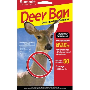 Summit Chemical 2001 50/Pk Deer Repel Capsule