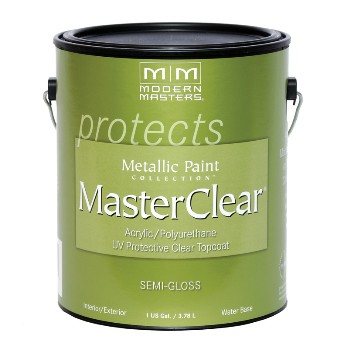 MasterClear  for Metallic Paint ~ Satin, Gallon