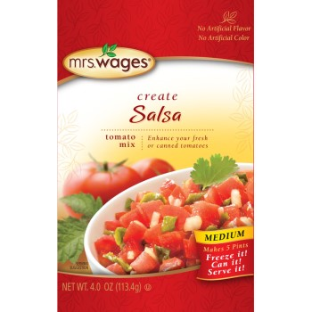 W536j7425 4oz Medium Salsa Mix