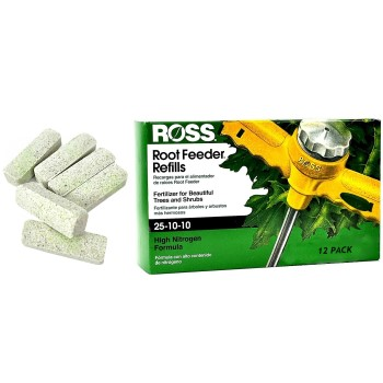 Ross Root Feeder Refills,  Tree & Shrub ~ 12 Pack