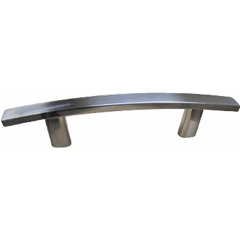 "Square Bar  Cabinet Pull, Satin Nickel Finish ~ 3"" CTC"