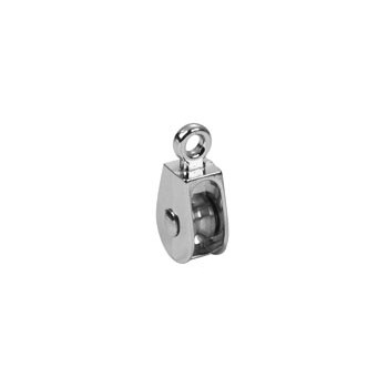Single Wheel Solid Eye Pulley - 3/4 inch