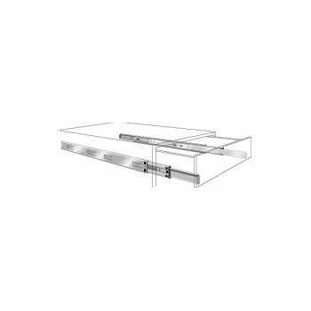 Side Mount Drawer Slides - 18 inch