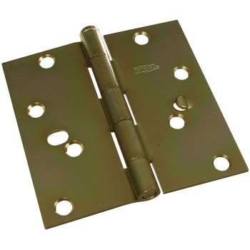 Brass Residential Hinge, Visual Pack 512 4 Inches