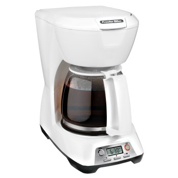 Hamilton Beach  43671 Digital Coffeemaker, White 43671