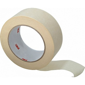 "3M 021200228940 Production Painting Masking Tape, Tan  ~ 2"" x 60 Yds"