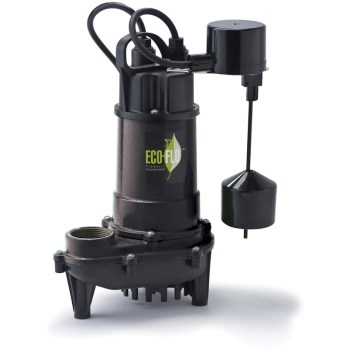 Eco-Flo Products Inc ECD33V 1/3 Hp Ci Sump Pump