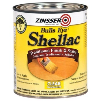 Rust-Oleum 00304H Shellac Sealer & Finish, Clear ~ Quart