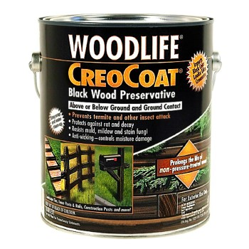 CreoCoat Wood Preservative, Black  ~ .88 Gallon