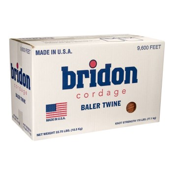 Hutchison  TW200-002-1101 Bridon Plastic Square BalerTwine ~ 9600 Ft Total