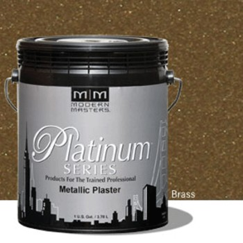 Plaster, Metallic  ~ Brass/One Gallon
