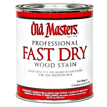 Fast Dry Interior Wood Stain,  Rich Mahogany ~ Quart