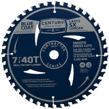 7-1/4in. 40t Con Saw Blade