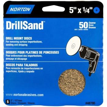 Norton 02496 Han Pk 5in. Sand Disk Crse