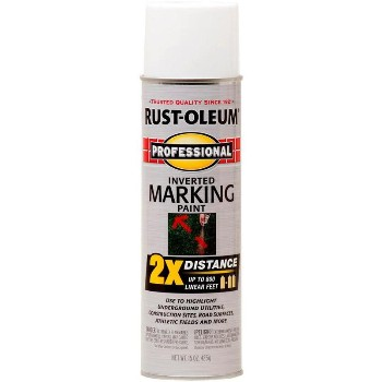 Marking Paint Spray~White 2x Inv