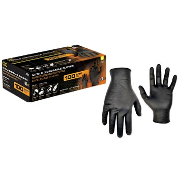 CLC 2337M Nitrile Gloves, Non-Powdered ~ Medium