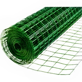 "Green Vinyl Netting 24"" X 25 feet"
