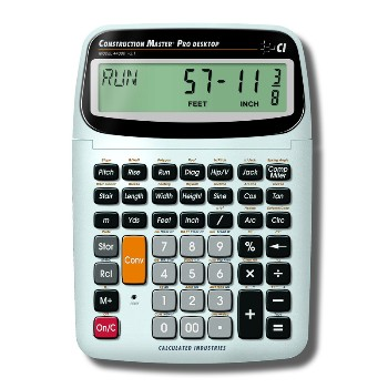 Calculated Industries 44080 M Pro Desktop Calculator