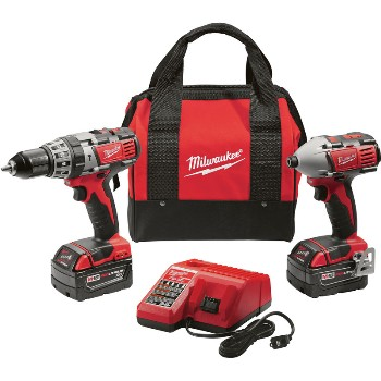 Milwaukee 2697-22 M18 Hm Drll Impact Kit
