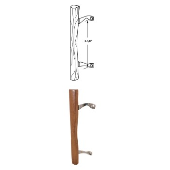 Patio Door Handle Wood