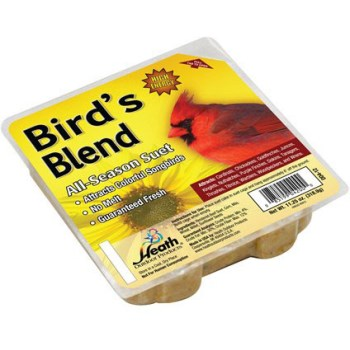 Bird's Blend Suet and Seed  Cake ~ 11.25 oz