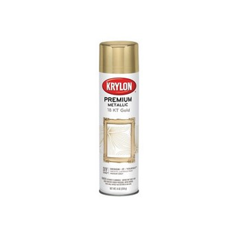 Premimum Metallic Finish, 18K Gold ~ 8 Oz Spray