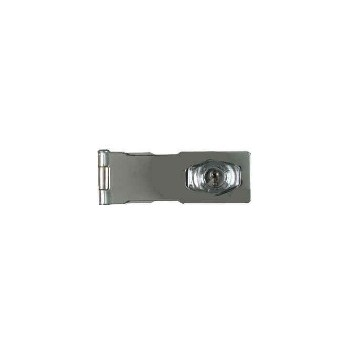 Keyed Chrome Hasp Lock ~ 4 1/2 inches