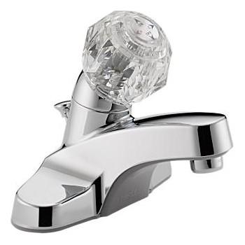 Delta Faucet P135LF Chr 1h W/Pu Lava Faucet