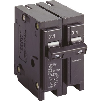 Eaton Corp CL220CS 20a Dp Breaker