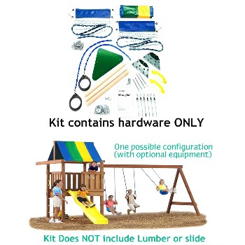 Wrangler Custom DIY Play Set Hardware Kit