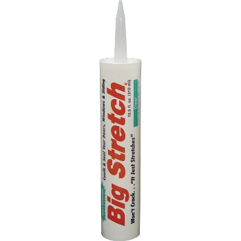 Acrylic Sealant, Big Stretch Clear 10.5oz