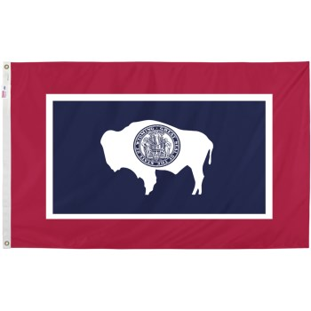 3ft. X5ft. Wyoming Flag