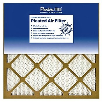 "Flanders Basic Pleated Air Filter ~  16"" X 16"" X 1"""