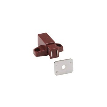 Touch Latch - Single Magnetic - Brown
