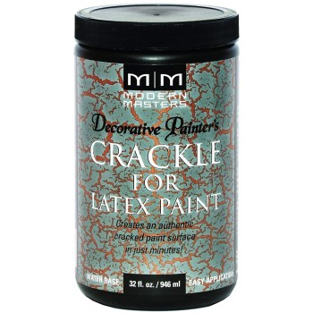 Modern Masters DP601-32 Decorative Painters Crackle For Latex Paint ~ 32 oz.