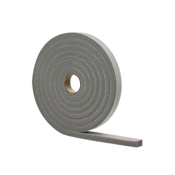 "Low Density Foam Tape, Gray ~  1/2"" x 3/4"" x 17'"