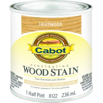 Cabot  Wood Stain - Fruitwood - 1/2 pint