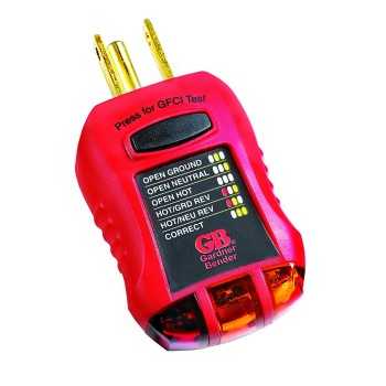 Ground Fault Receptacle & Outlet Tester