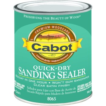Sanding Sealer, Quick Dry ~ Quart