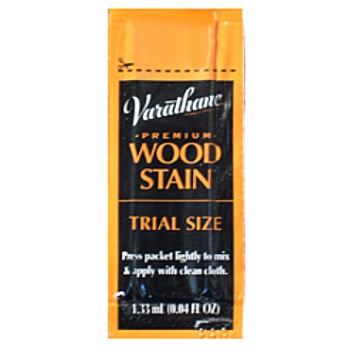 Varathane Permium Wood Stain, Summer Oak Trial Size 0.04 Oz