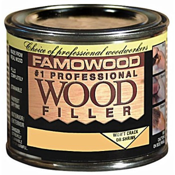 Wood Filler ~  Alder, 1/4 Pint